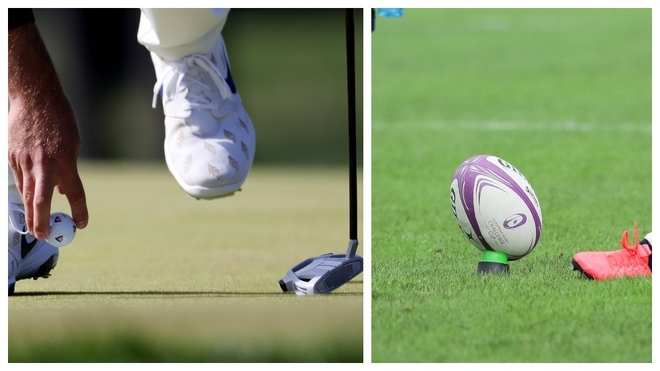 ¡El golf es más lesivo... que el rugby! Así lo afirma un estudio realizado en Reino Unido