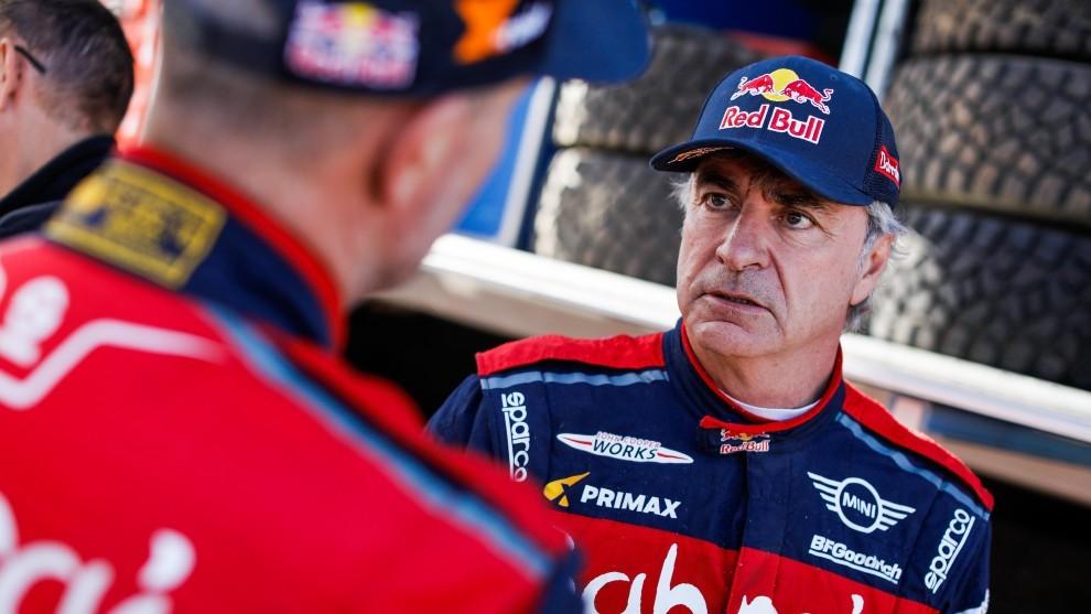 Oficial: Carlos Sainz y Stéphane Peterhansel, la dupla de Mini X-Raid para el Dakar 2021