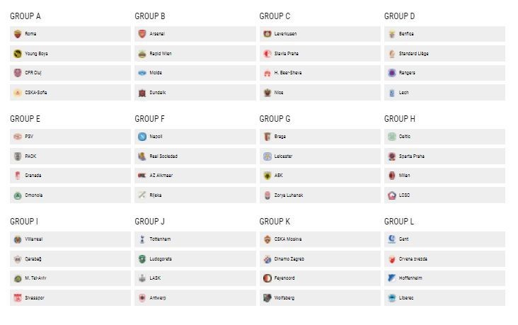 live blog the 2020 21 europa league group stage draw marca in english 2020 21 europa league group stage draw