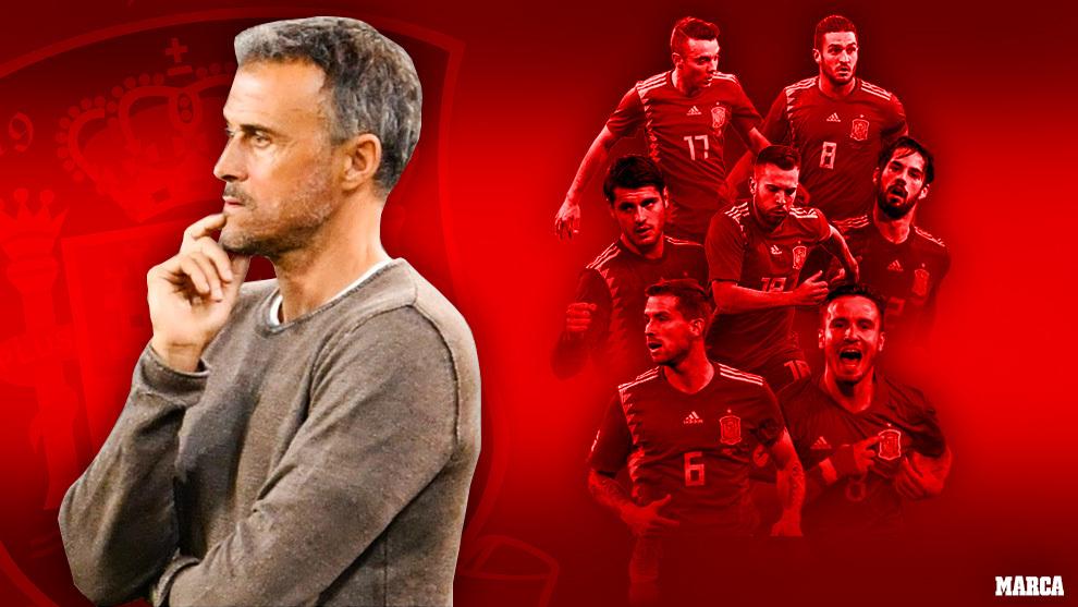 Una lista con mensaje de Luis Enrique: siete intocables están lejos de la Eurocopa