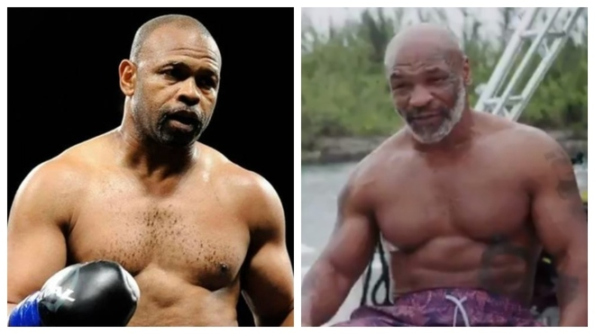 Roy Jones y Mike Tyson