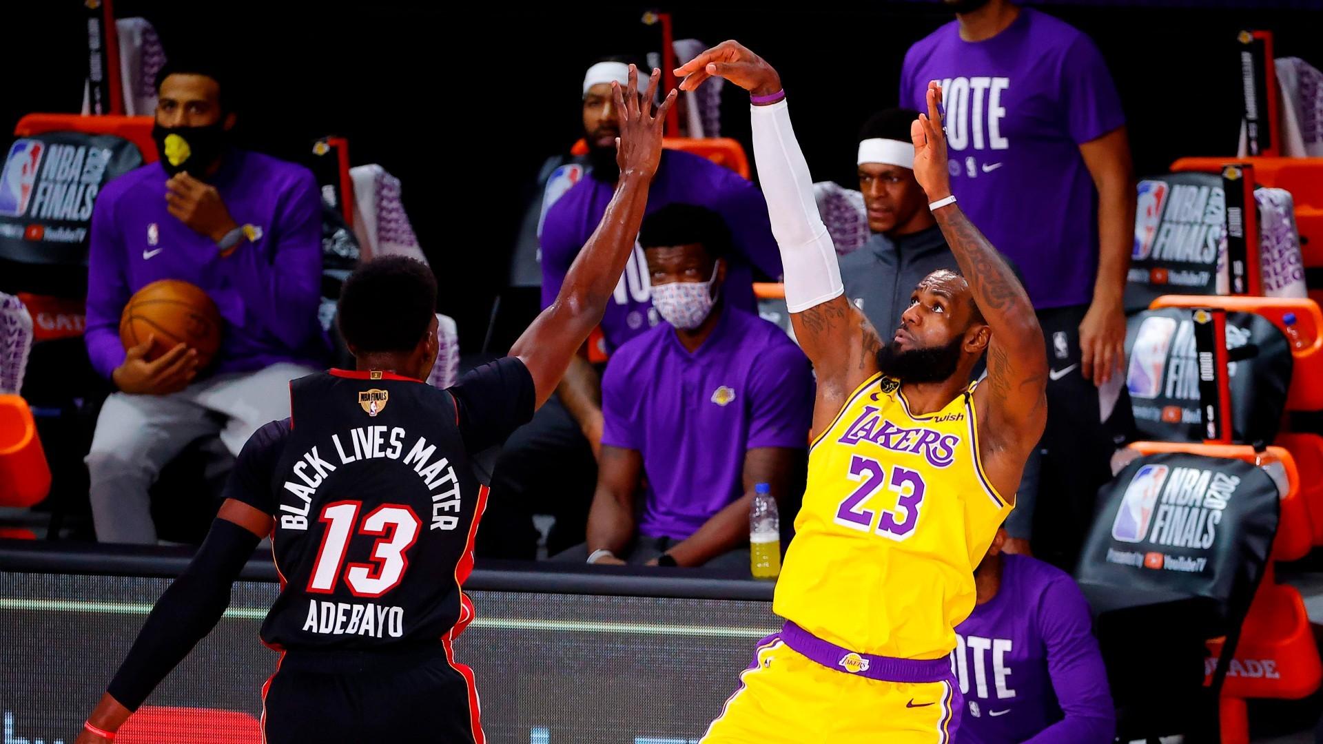 Finales NBA 2020: Los Angeles Lakers vs Miami Heat: Horario y dónde ver el  segundo partido de la final de la NBA   Marca.com