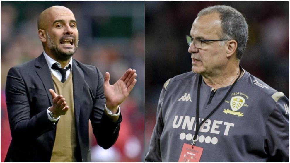 Leeds boss Bielsa insists he's not Guardiola's mentor