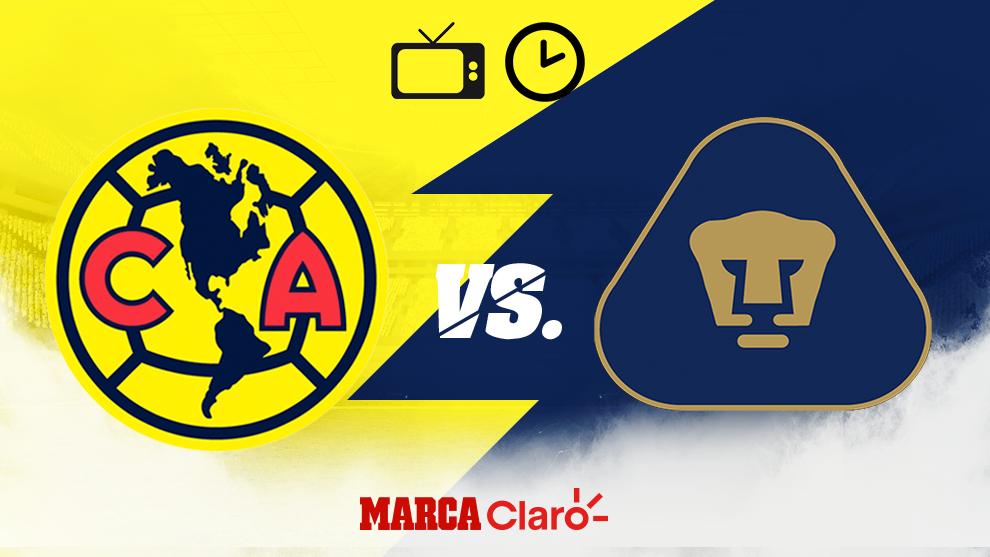 lino sitio Caña  Partidos de hoy: América vs Pumas hoy en vivo: Horario y dónde ver por TV  el Clásico Capitalino de la Jornada 13 de Liga MX   MARCA Claro México