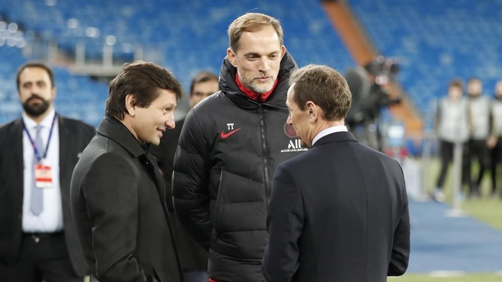 Leonardo hits out at Tuchel: If he isn't happy then he should leave
