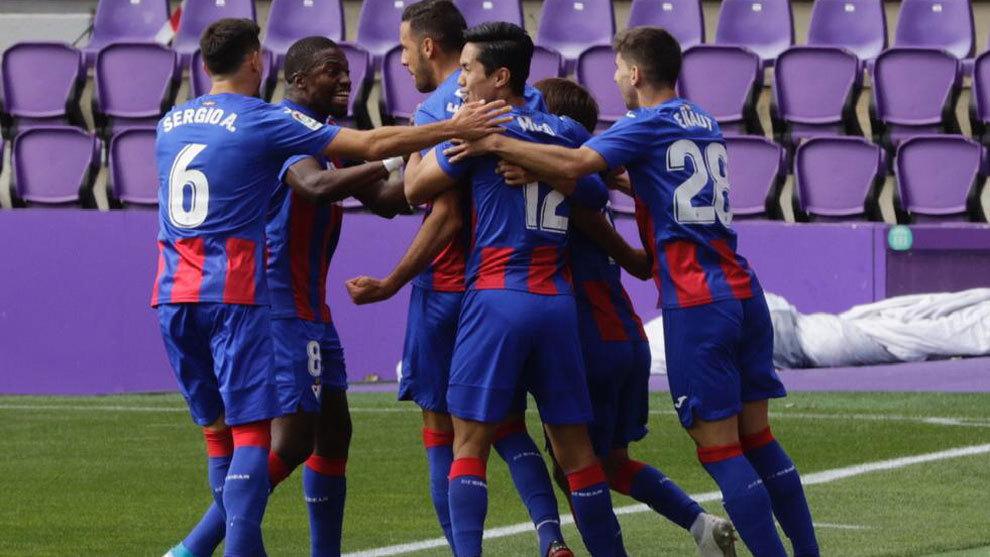 Eibar earn their first win of the season in Valladolid