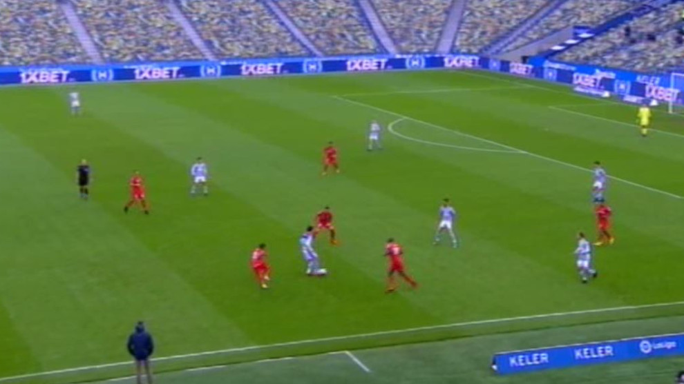 Arambarri y Soria evitan el gol