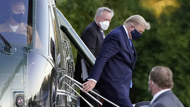 The latest on Donald Trump's health after testing positive for COVID-19