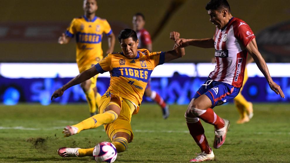 Partidos De Hoy Tigres Vs San Luis Resumen Goles Y