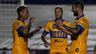 Quiñones, Gignac y Vargas anotaron para Tigres ante San Luis. |