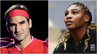 Federer y Serena