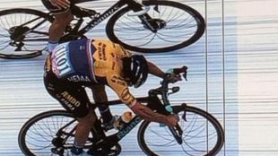 Roglic ha conquistado la Lieja por un cuarto de rueda.