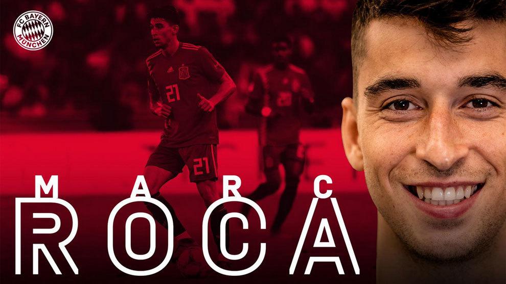 Oficial: El espanyolista Marc Roca ficha por el Bayern