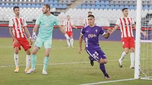 Djurdjevic se dispone a celebrar el gol que acababa de marcar en...