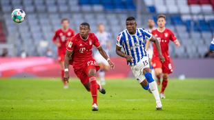 Bayern 4-3 Hertha: Partidazo en la Bundesliga.