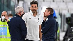 Buffon, en el Juventus Stadium.