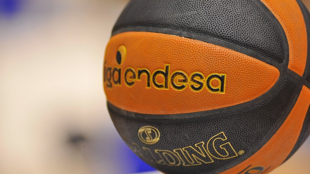 Un balón de la Liga Endesa.