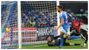Fernando Llorente celebra un gol contra el Bolonia.