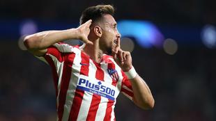 Héctor Herrera desea tener más minutos con el Atlético de Madrid. |