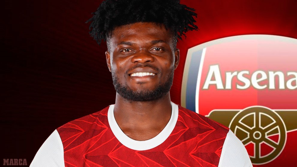 Official: Thomas Partey signs for Arsenal after 50 million euro buyout clause activated