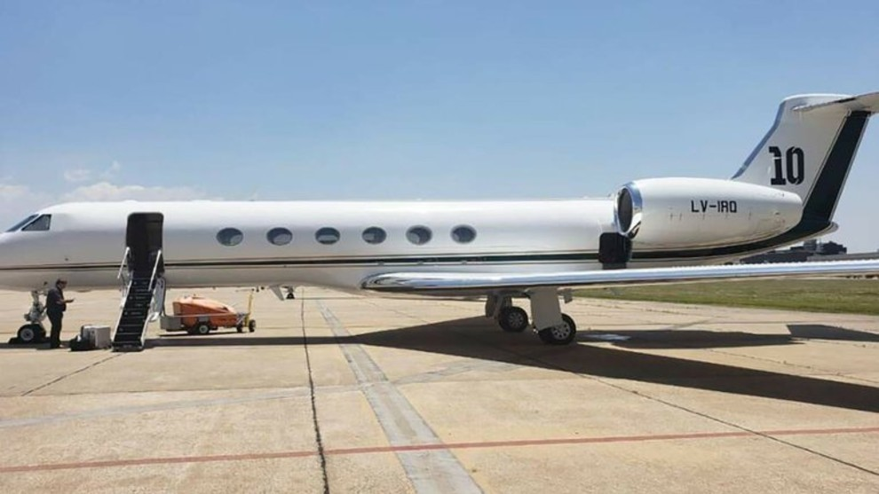 A look inside Messi's luxurious private jet