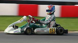 Luca Corberi, protagonista del lamentable incidente del Mundial de KZ...