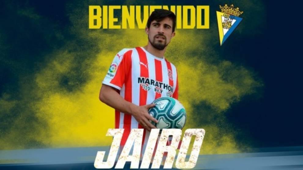 Jairo Izquierdo regresa al Cádiz