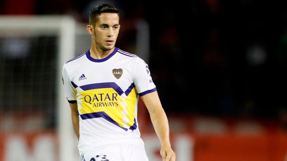 Iván Marcone, durante un partido con Boca Juniors.