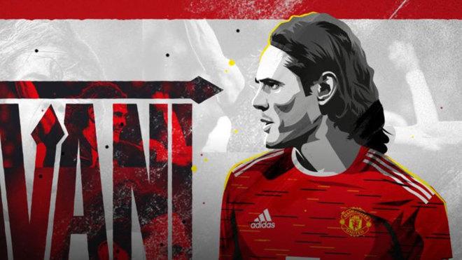 Cavani ficha por el Manchester United.