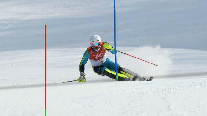 Andre Myhrer, en los Juegos de Pyeongchang.