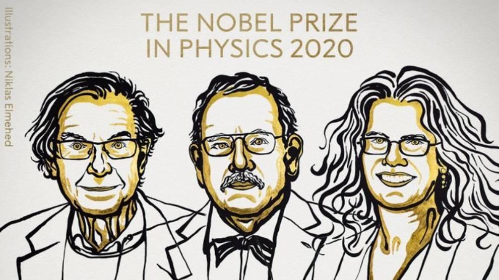 Premio Nobel de Física 2020: Tres expertos en agujeros negros se llevan el  galardón | MARCA Claro México