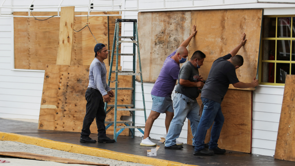 El huracán Delta llegará a Quintana Roo