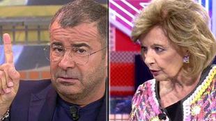 Jorge Javier Vázquez rompe en público con María Teresa Campos