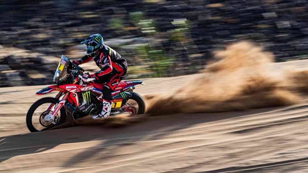 Kevin Benavides (Honda) Andalucía Rally 2020