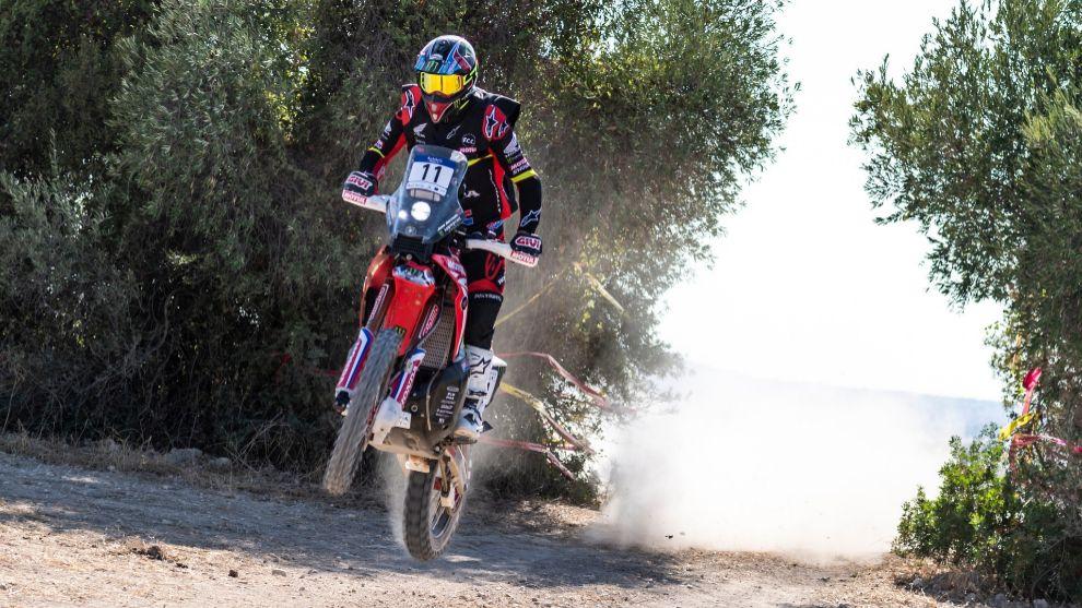 Joan Barreda (Honda) Andalucía Rally 2020