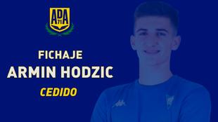 Fichajes Alcorcon Armin Hodzic