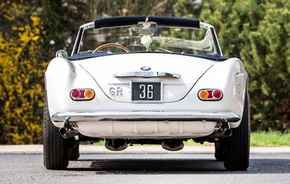 El coche, con la misma matrícula que lucía cuando pertenecía al príncipe Constantino.