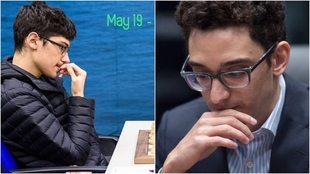 Firouzja vs Caruana.