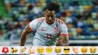 Adama Traoré en su debut con España