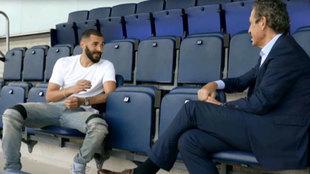 Las confesiones de Benzema: sus problemas de adaptación, su gran ídolo, la relación con Cristiano....