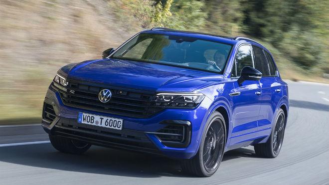 El Touareg R es el Volkswagen de producción en serie más potente con...