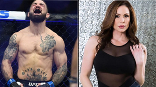 Mike Perry y Kendra Lust