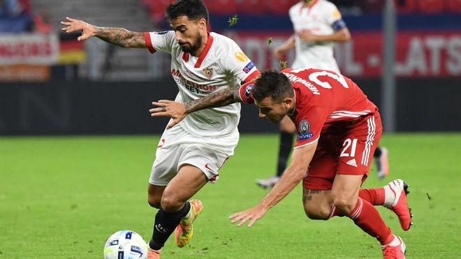 Suso, en el partido frente al Bayern.