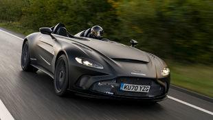 Al Aston Martin V12 Speedster, inspirado en el mítico caza F/A-18,...