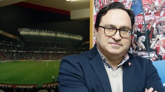 Javier Fernández, presidente del Sporting.