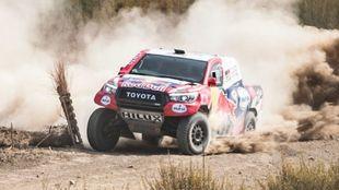 Nasser Al-Attiyah (Toyota) Andalucía Rally 2020.