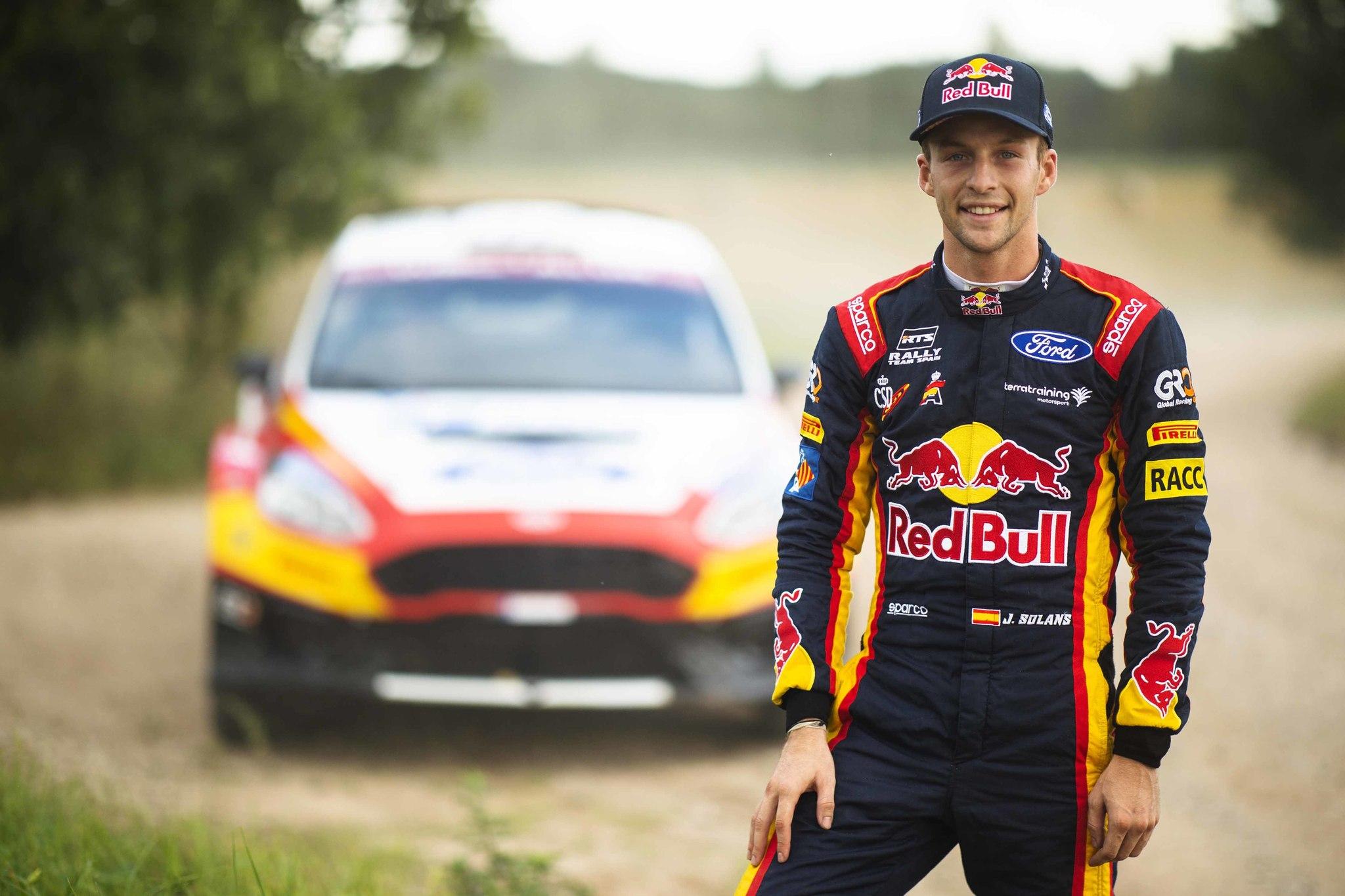 Solans ganó su categoría en este rally el año pasado y quiere volver a destacar ahora con el R5.