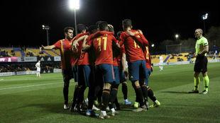 España - Islas Feroe, la clasificacion del Europeo sub 21