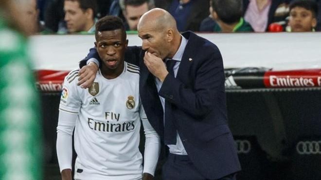 Vinicius shines in Zidane's auditions