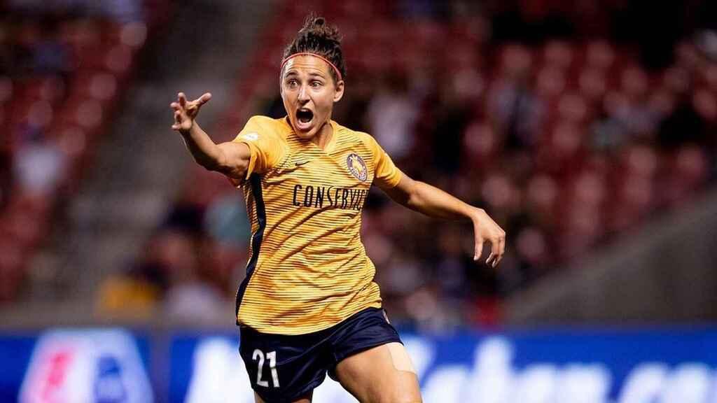 La española Vero Boquete, jugadora de Utah Royals.